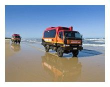 Fraser Island Day Tours from the Sunshine Coast