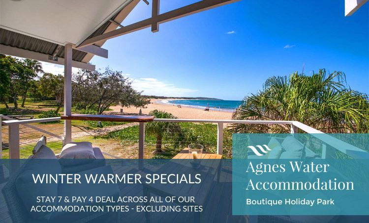 Agnes Water beachfront accommodation