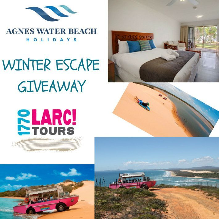 Agnes Water accommodation winter escape giveaway competition