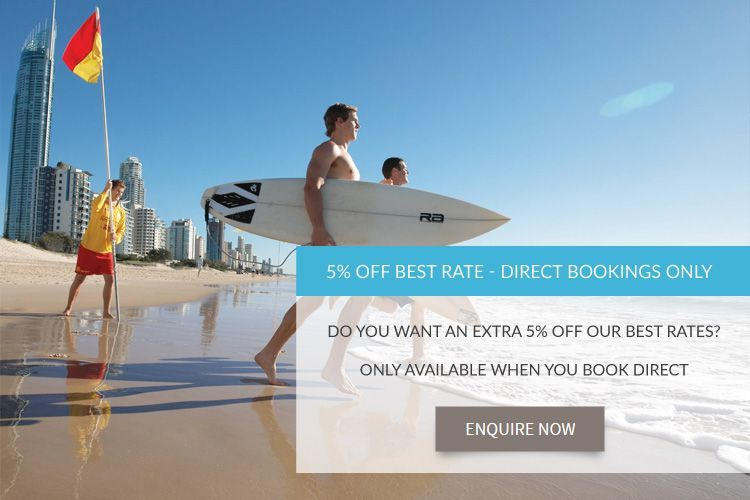 Gold Coast beachfront accommodation