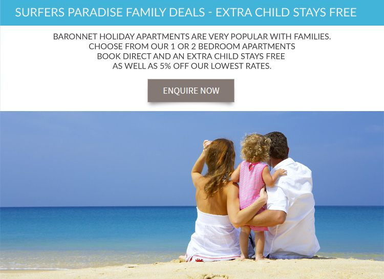 Surfers Paradise family accommodation
