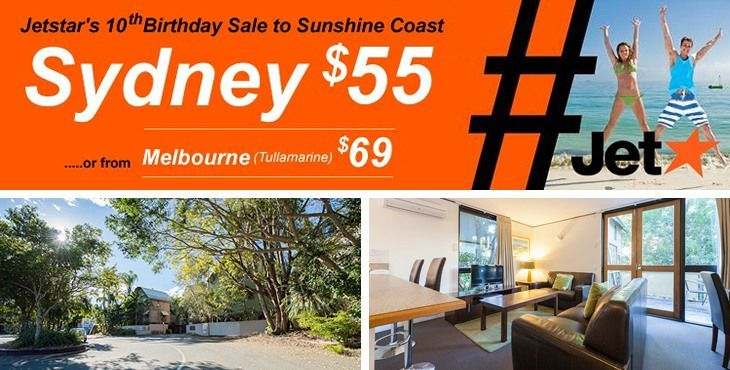 Noosa accommodation specials