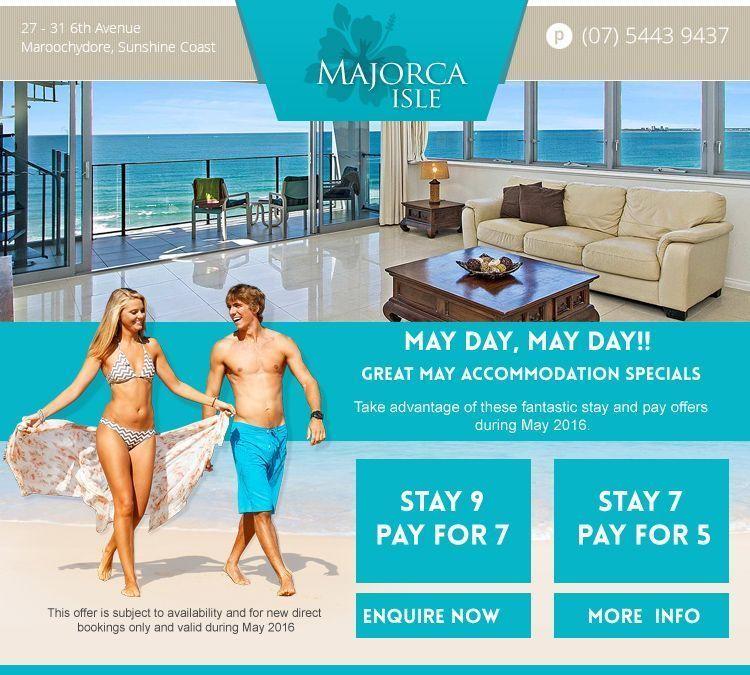 Maroochydore accommodation specials