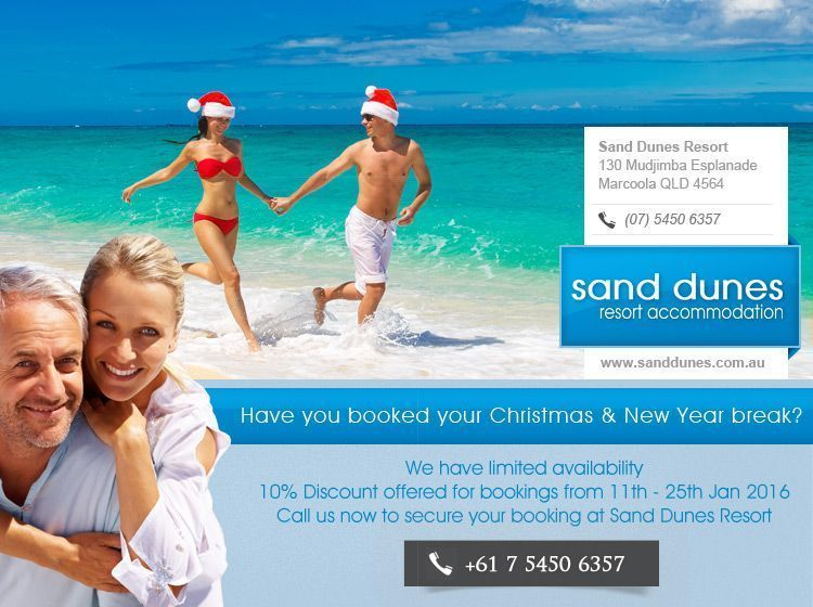 Marcoola Beach accommodation specials