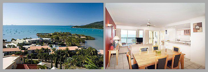 Accommodation in Airlie Beach at Med Resorts