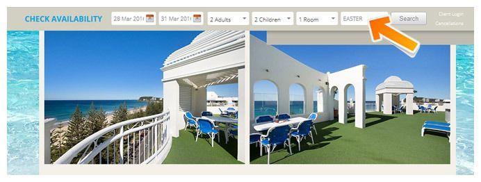 Burleigh Med Resort bookings