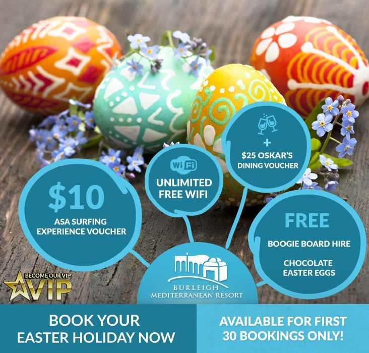 Easter holiday accommodation on the Gold Coast