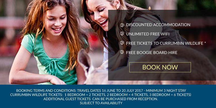 Gold Coast school holiday deals