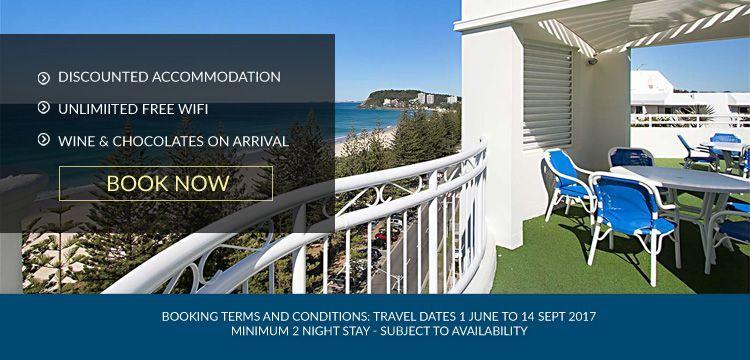 resort accommodation Burleigh