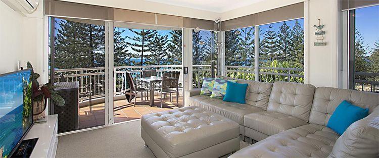Burleigh beachfront accommodation