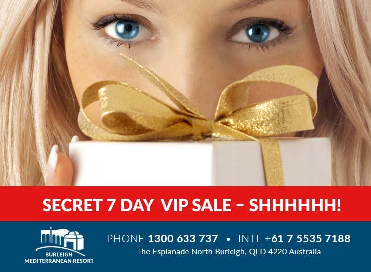 accommodation secret sale