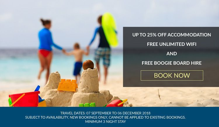 September school holiday accommodation deal