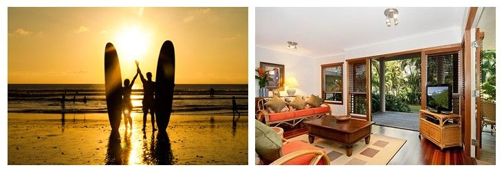 Noosa accommodation for Noosa's Festival of surfing
