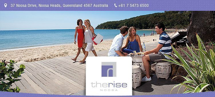 Noosa Holidays at The Rise