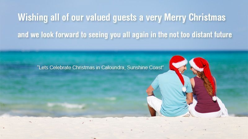 Caloundra Christmas holiday accommodation