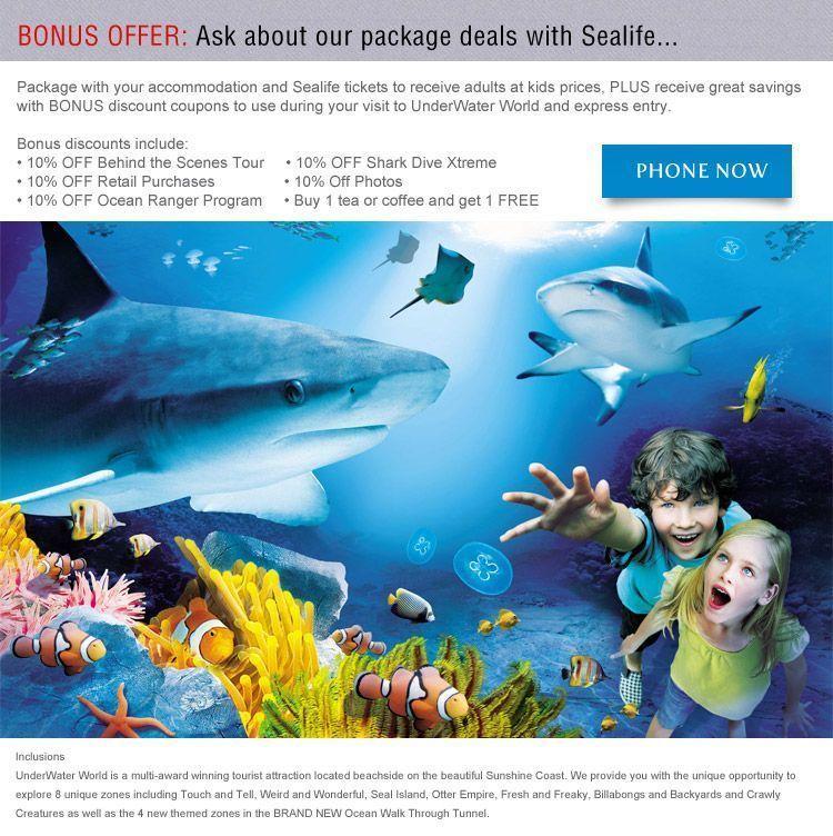 Visit Sea Life Mooloolaba